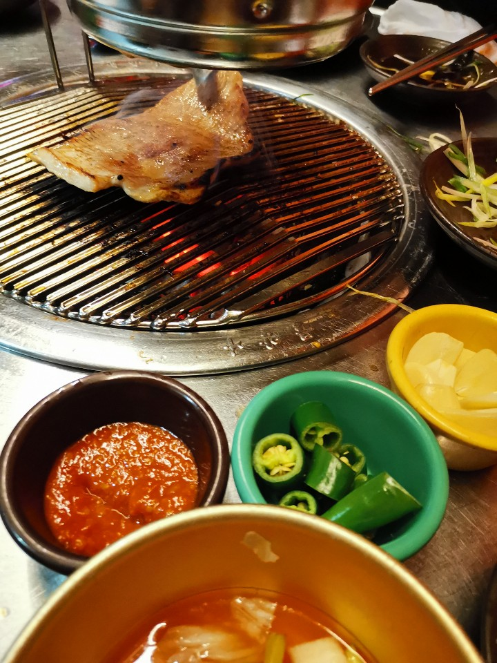 Korean BBQ with Friends