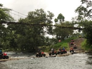 Driving ATVs in Costa Rica